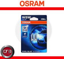 Osram T10 W5W Cool Blue Intense Lampade Lampadine Luci posizione interno targa