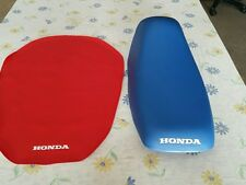HONDA EZ90 CUB 1991 TO 1996 MODEL SEAT COVER RED  (H189--n6)