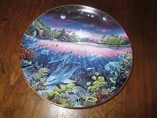 "8 1/8"" D. Collector Plate-Robert Lyn Nelson-Search For Harmony 1991-Danbury Mint"