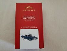 New ListingHallmark 2020 1970 Chevrolet Monte Carlo Ss Limited Edition Keepsake Ornament