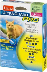 Hartz Ultra Guard Pro Topical Flea and Tick Prevention For Cats and Kittens - 3