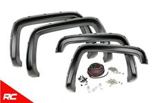 Rough Country Fender Flares (fit) 2007-2013 Chevy Silverado 1500 6.5 / 8 FT Bed