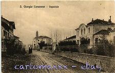 San Giorgio Canavese, Torino - L'Ospedale - Scritta - S013