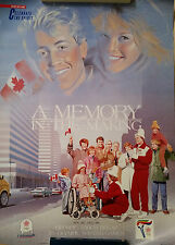 Calgary 1988 Olympic Torch Relay Posters (x2) - PetroCanada