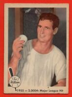 1959 Fleer #56 Ted Williams VG-VGEX MARKED Boston Red Sox FREE SHIPPING
