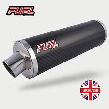 Aprilia RSV Mille Exhaust Classic Carbon Fibre Round Mini UK Road Legal Muffler