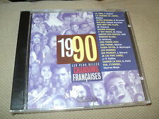 Cd nf CHANSONS FRANCAISES 1990 Richard ANTHONY Judith BERARD Jean-Pierre KALFON