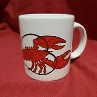 Vtg Waechtersbach Collectible White Coffee Cup Mug West Germany Lobster