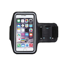 Sports Running Yoga Gym Armband Arm Band Case Cover Holder for Mobile PHONES D4w Black