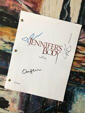 Jennifer's Body Movie, Script, Screenplay, signed, Autograph, Replica, Megan Fox