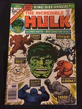 Incredible Hulk Annual #5 F/VF 2nd App GROOT from Guardians of the Galaxy!