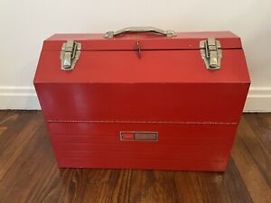 Vintage Sears Craftsman 6536 Cantilever Hip Roof Tool Box