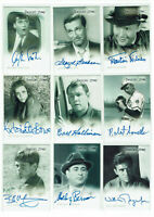 Twilight Zone Rittenhouse Archives Autograph Card Selection - Various Series