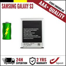 AAA+ REPLACEMENT VERVANG BATTERY/BATTERIJ/BATTERIE FOR SAMSUNG GALAXY S3 I9300