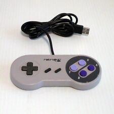 RETROLINC SNES Style USB Controller for PC & MAC Grey (B)