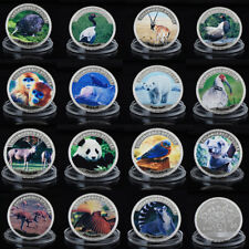 WR Endangered Species Series 15PCS Set $100 Colored Silver Coin For Collection
