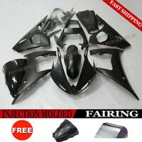 Matte Black Fairing Kit For Yamaha YZF R6 2003-2004 / R6S 2006-2009 ABS Bodywork