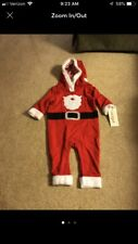 Santa Claus Christmas baby outfit