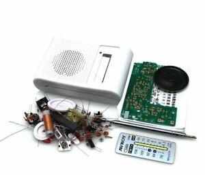 AM / FM  DIY radio project kit  -  build your own radio