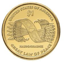 """2010 P Sacagawea Native American Dollar US Mint Coin """"About Uncirculated"""""""