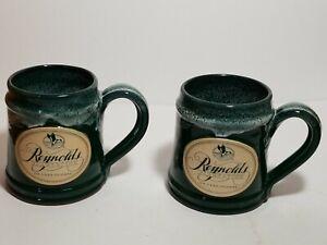 Set Of 2 Deneen Pottery Coffee Mugs Reynolds Plantation On Lake Oconee