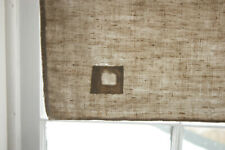 Antique Timeworn Heavy Linen Towel with a Patch European