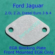 EGR Valve Blanking Plate Ford ST Mondeo Jaguar X-type 2.0 2.2 TDCi  3mm Ally