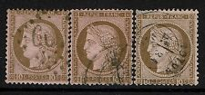 France # 60, Used, 3 cancel varieties, see notes - Lot 073017