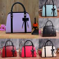Women Faux Leather Messenger Handbag Fashion Shoulder Bags Totes Purse