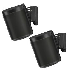 Flexson Wall Mounts for Sonos One - Pair (Black)