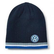 VW Volkswagen Berretto, Cappello ORIGINALE Blu con logo Golf Polo Up Passat