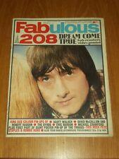 FABULOUS 208 MUSIC MAGAZINE 19TH NOVEMBER 1966 SCOTT WALKER MICHAEL CRAWFORD