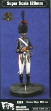Verlinden 120mm 1:16 Tambour Major 45th Line Resin Figure Model Kit #1324