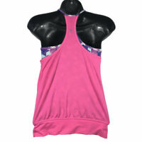 Ivivva Double Dutch Tank Top Pink Girl's Size 8