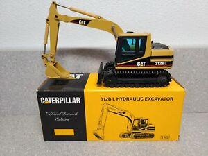 Caterpillar Cat 312B L Excavator - Launch Edition - NZG 1:50 Scale Model #414
