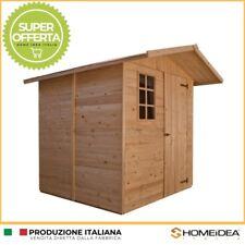 CASETTA in legno 222 x 222 cm da giardino ripostiglio porta attrezzi da 20 mm