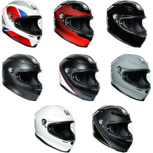 2021 AGV K6 Full Face Street  Motorcycle Helmet Pick Size & Color