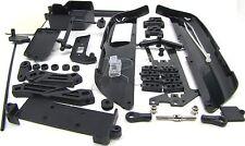 MBX7r PLASTIC SET (side stone mud guards tension rod radio box tray MUGEN E2015