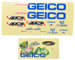 Pro Boat Miss GEICO 17 Decal Sheet [PRB0304]