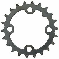 TRUVATIV CHAINRING MTB 22 TEETH 4 BOLT 64mm BCD STEEL MATT BLACK 11.6215.064.000