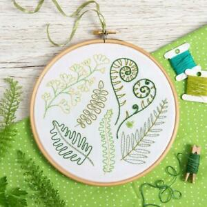 'Forest Ferns' Embroidery Kit