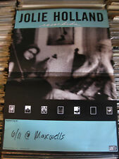 JOLIE HOLLAND Concert RECORD Escondida POSTER MAXWELLS 6/11 NJ PUNK ROCK INDIE