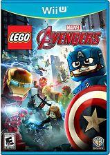 LEGO Marvel's Avengers (Nintendo Wii U) BRAND NEW