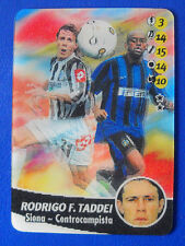 CALCIO ANIMOTION - ANIMATE CARD GAME 2003/04 - RODRIGO F. TADDEI - SIENA