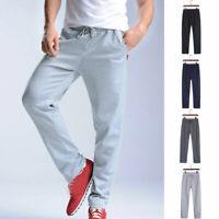 Mens Sports Pants Casual Trousers Tracksuit Workout Jogging Sweatpants Plus Size