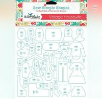 Vintage Housewife Simple Shapes Templates Lori Holt Bee in My Bonnet