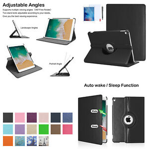 "For iPad Mini 1 2 3 7.9"" 360 Rotating Auto Wake/Sleep Smart Case"
