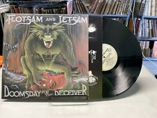 Flotsam And Jetsam Doomsday For The Deceiver 1986 Lp Nm Record Metal Blade