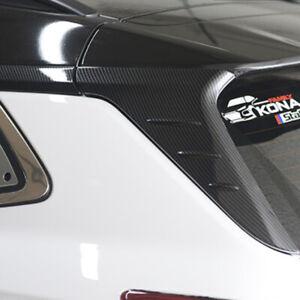 Rear C Pillar Molding Carbon 4p for 2018 2019 Hyundai Kona