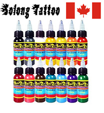 Solong Tattoo® 14 Colors Tattoo Ink Kit Pigment Set 1oz (30ml) Professional Tatt